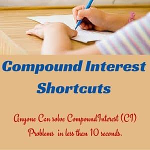 Compound Interest Shortcuts