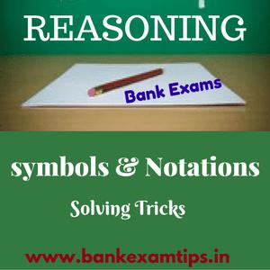 Reasoning Tips - Symbols and Notations