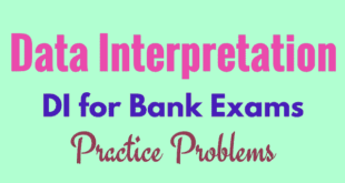 Data Interpretation Questions With Solutions for SBI Clerk 2018
