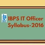 IBPS IT Officer Syllabus