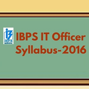 IBPS IT Officer Syllabus