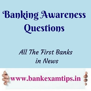 All first banks in news
