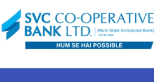 SVC Co-Operative Bank Recruitment 2018 Notification