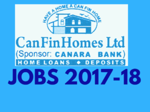 Can Fin Homes Recruitment 2017 for Specialist OFficers and Jr. Management Trainees