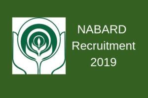 NABARDGrade A Recruitment 2019 Notification