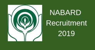 NABARD Grade A Recruitment 2019 Notification