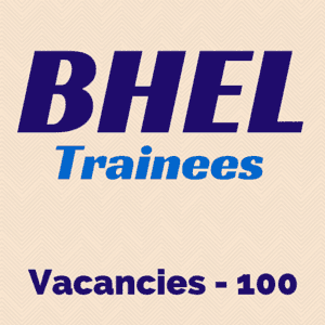 BHEL Trainees under NEEM Scheme