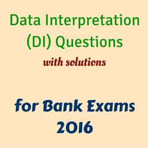 Data Interpretation Questions for Bank Exams | Bank Exam Tips
