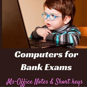 Computer Awareness for Bank Exams