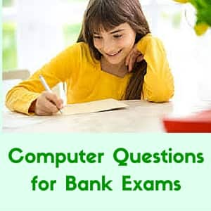 Computer Questions for Bank Exams – SBI Clerks 2016
