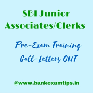 SBI Junior Associates (JAs)/Clerks Call letters Download