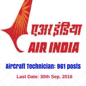 AIR INDIA Jobs 2016