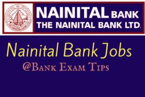 Nainital Bank Recruitment 2017 for Officers @Bank Exam Tips