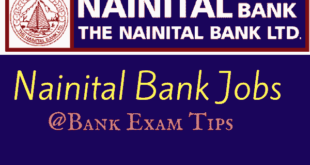 Nainital Bank Recruitment 2017 for Officers @Bank Exam Tips