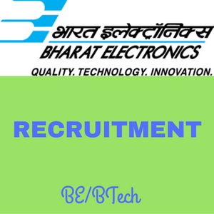 Bharat Electronics Recruitment 2016
