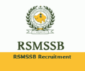 RSMSSB Recruitment 2018 Notification