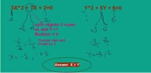 Quadratic Equations Shortcut Tricks for Bank Exams