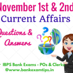 Latest Current Affairs Questions & Answers - November 2016 - SET-1