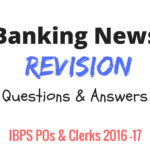 Banking Current Affairs Revision For IBPS Bank Exams | IBPS POs & Clerks