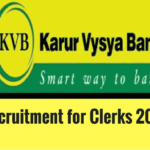 KVB Recruitment 2016 for Clerks