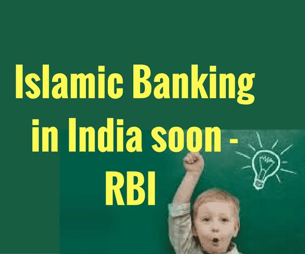 Islamic Banking in India