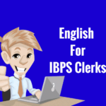 English for IBPS Clerks 2016
