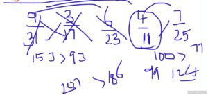 comparing fractions Easy Trick