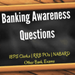 Banking Awareness Questions for IBPS Clerks