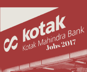 Kotak Mahindra Bank Recruitment 2017 | Off-Campus Walkin For Freshers