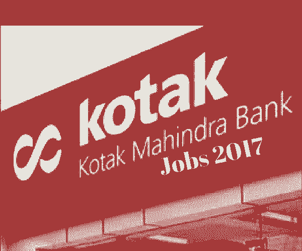 Kotak Mahindra Bank Recruitment 2017 | Off-Campus Walkin For Freshers