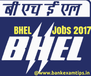 BHEL Recruitment 2017 for Trade Apprentice Posts – 267 Posts