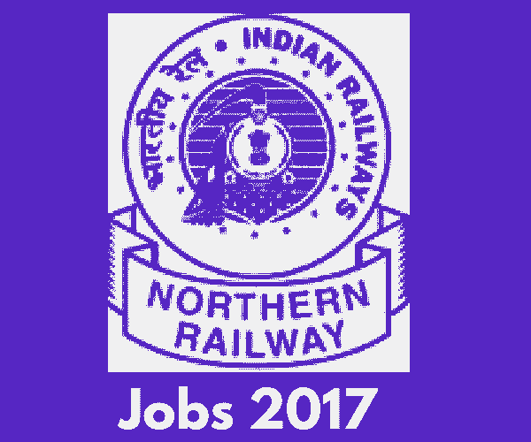 Northern Railway Recruitment 2018 - 3162 Apprentice Vacancies