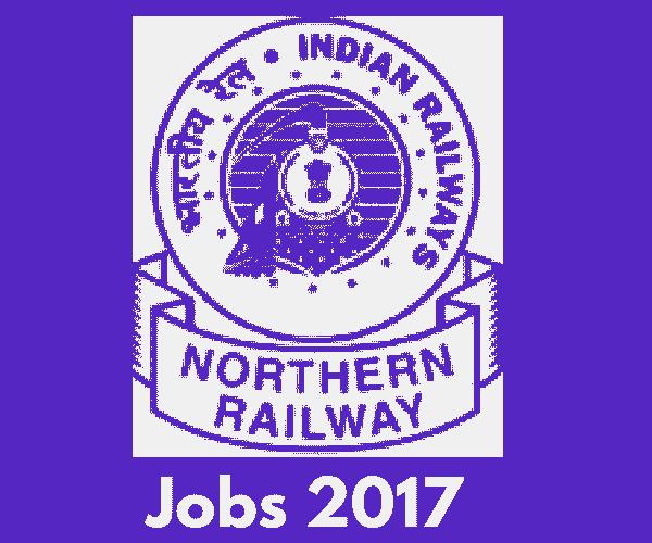 Northern Railway Recruitment 2018 - 3162 Apprentice Vacancies