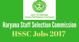 HSSC Recruitment 2017 - 1139 Vacancies - Haryana Stenographer Jobs 2017