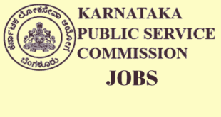 KPSC Recruitment 2018 Notification