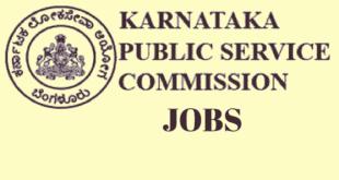 KPSC Recruitment 2018 Notification
