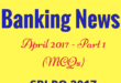 Banking Current Affairs April 2017
