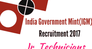 IGM Recruitment 2017