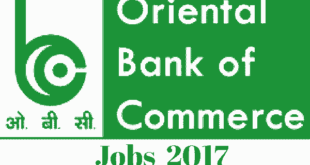 OBC Bank Specialist Officers Recruitment 2017
