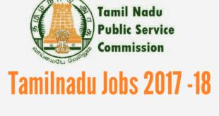 Tamilnadu Group II Jobs 2017