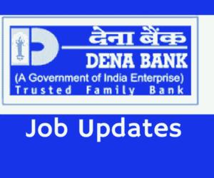 Dena Bank PO Recruitment 2017
