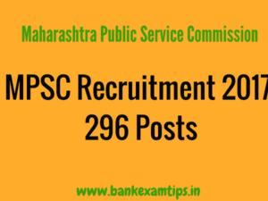 MPSC - Mahasrashtra Public Service Commission Recruitment 2017 for Tax Assistants