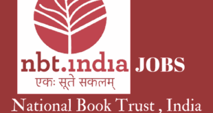 NBT India Recruitment 2017
