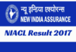 NIACL Assistant Prelims Result 2017