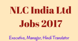 NLC India Recruitment 2017 for Executive Engineers, Hindi Translators - 131 posts