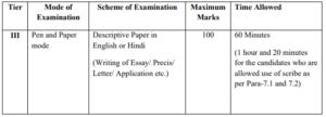 ssc cgl recruitment 2019 exam pattern