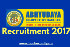 Abhyudaya Bank Accountant Recruitment 2017 – Branch Managers & Accountants