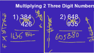 Shortcuts for Mulitplication of 3 Digit Numbers