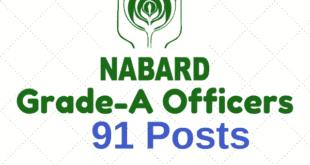 NABARD Grade A Officer Notification 2018