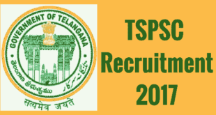 TSPSC Recruitment 2017 Notification for Assistant Executive Engineers